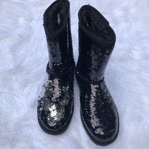 Arizona Reversible Sequin Boots